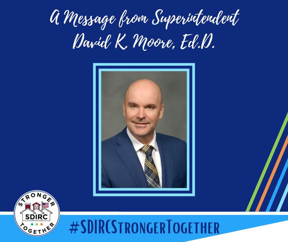 Message from Dr. Moore