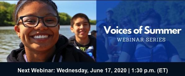 Voices of Summer Webinar Series
