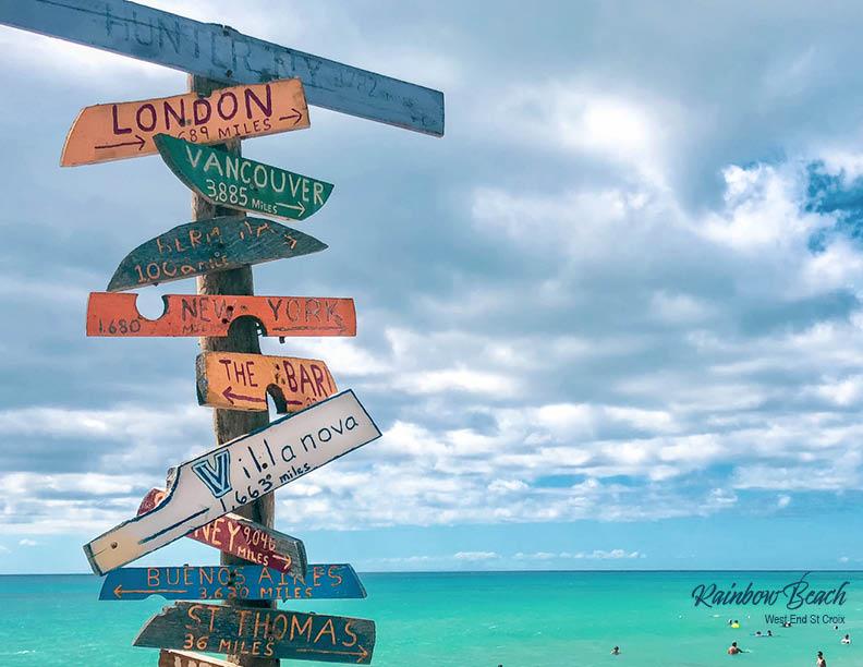 Rainbow Beach St Croix 2020 Calendar