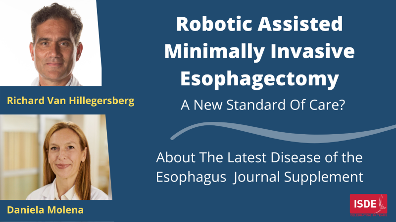 Robotic-Assisted Minimally Invasive Esophagectomy: A New Standard of Care?