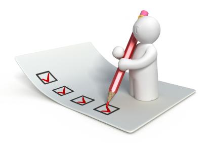 Complete the survey