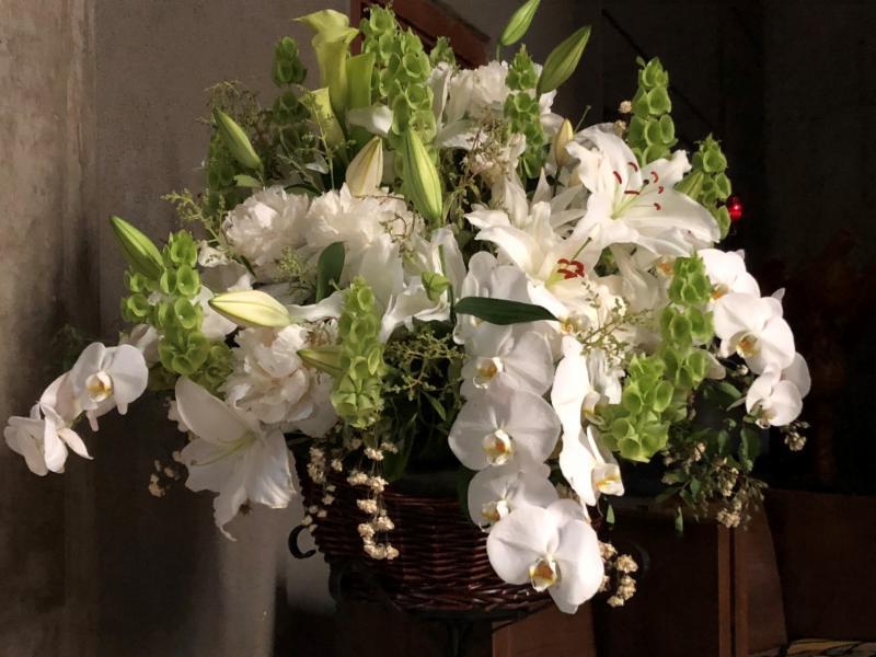 Hoybach Memorial flowers
