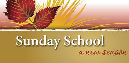 Sunday School Begins