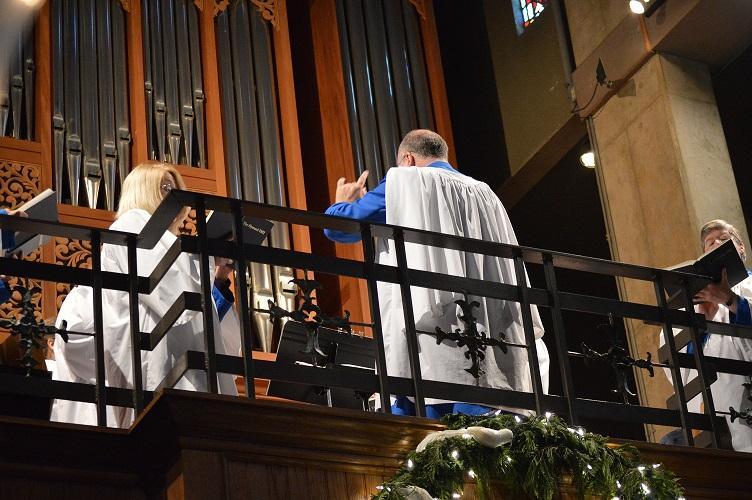 Blue Choir
