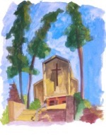 Taposky painting of St. Stephens