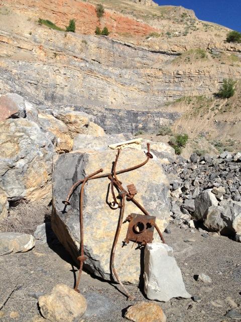 Rusty art_ old quarry