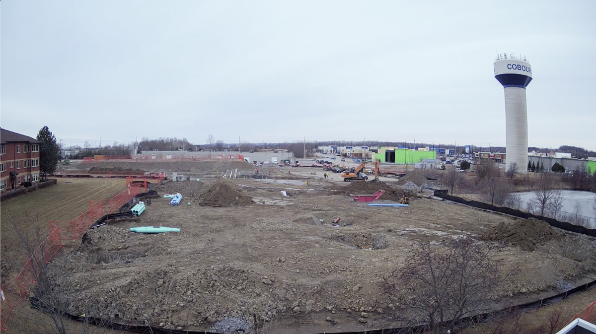 Photo of GPL and NCAM construction site in March 2021