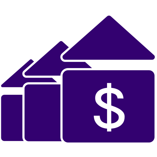 image of home with dollar sign