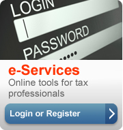Changes to e-Services - IRS News