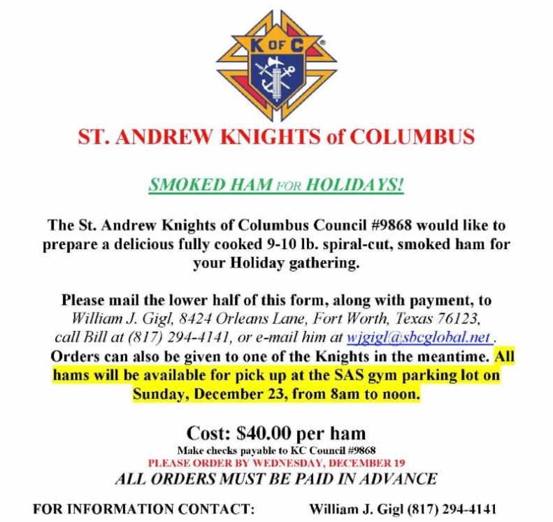 Wildcat Weekly Newsletter Saint Andrew Catholic School