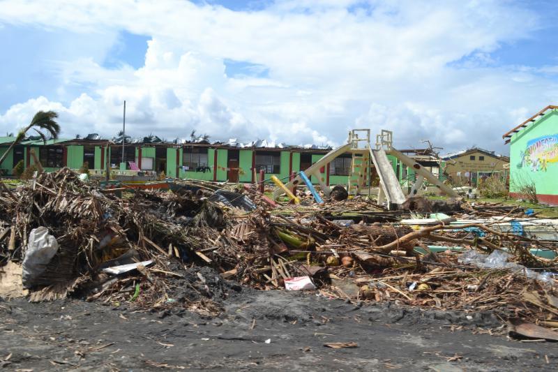 Typhoon Haiyan in Tacloban photo