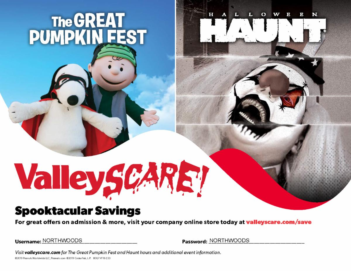 Valleyscare advertisement