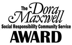 Dora Maxwell Community Service Award Logo