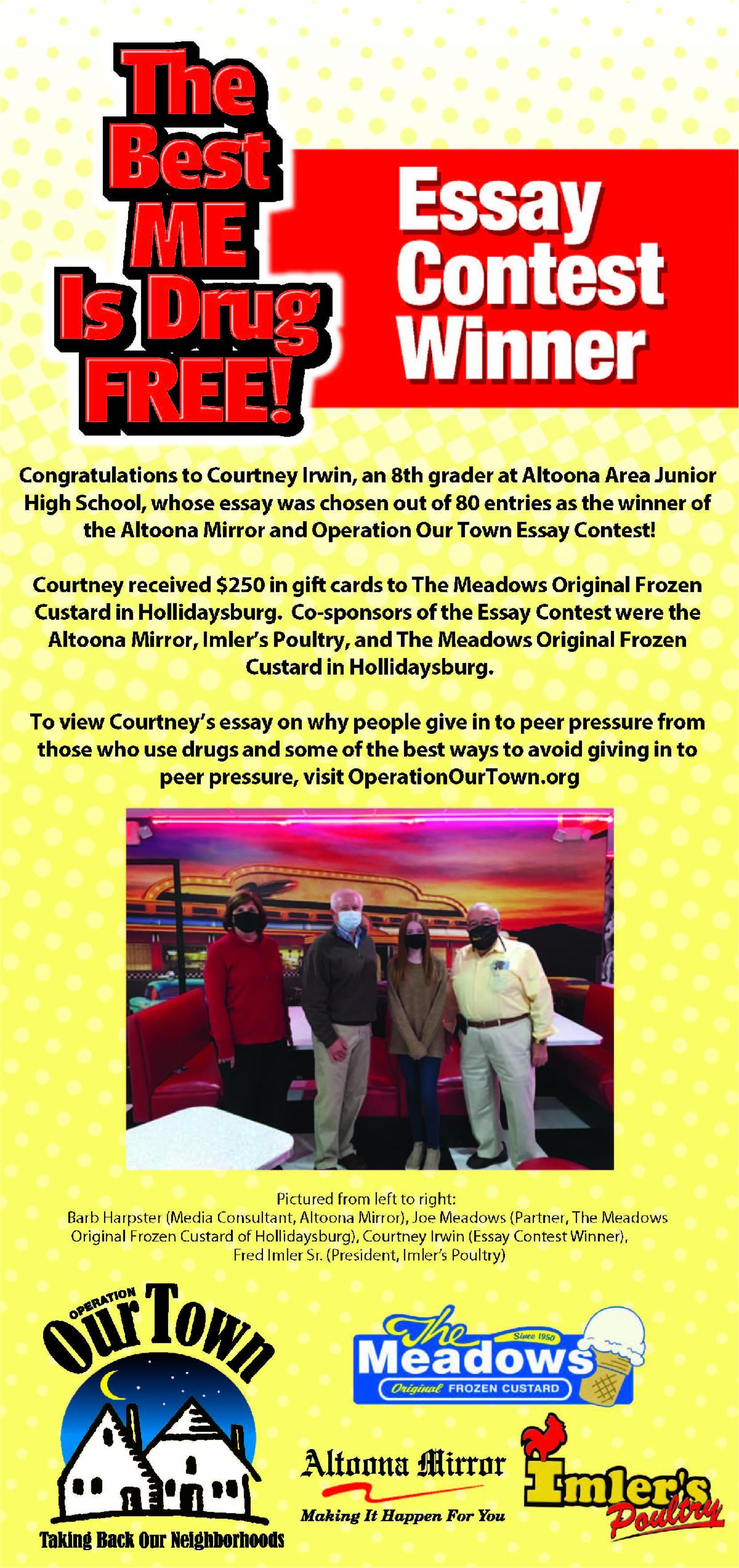 Operation Our Town Essay Contest