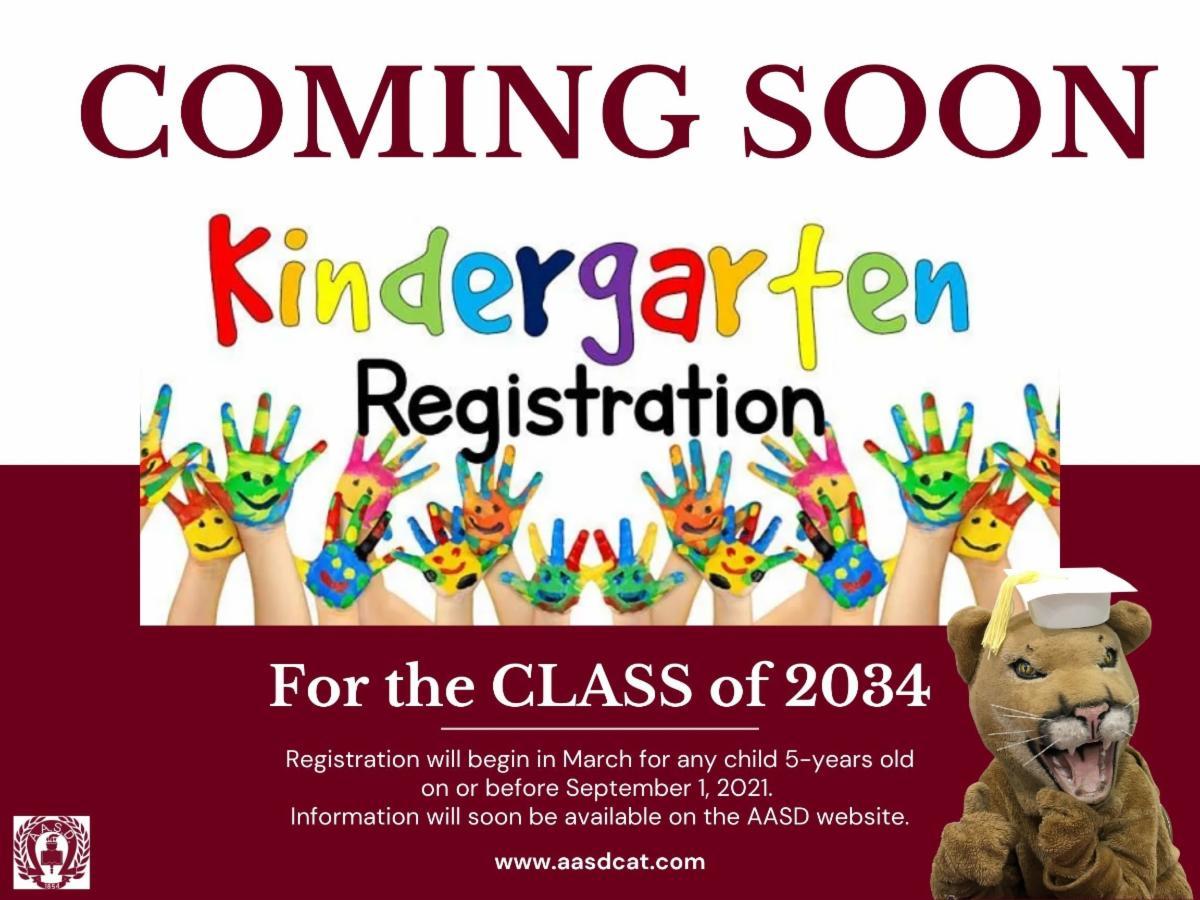 Kindergarten Registration Coming Soon