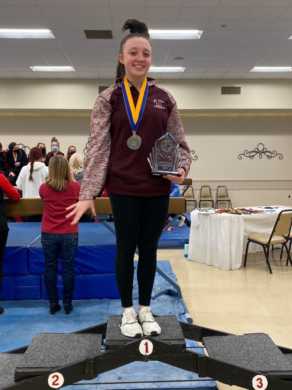 Gracie Weaver - champion