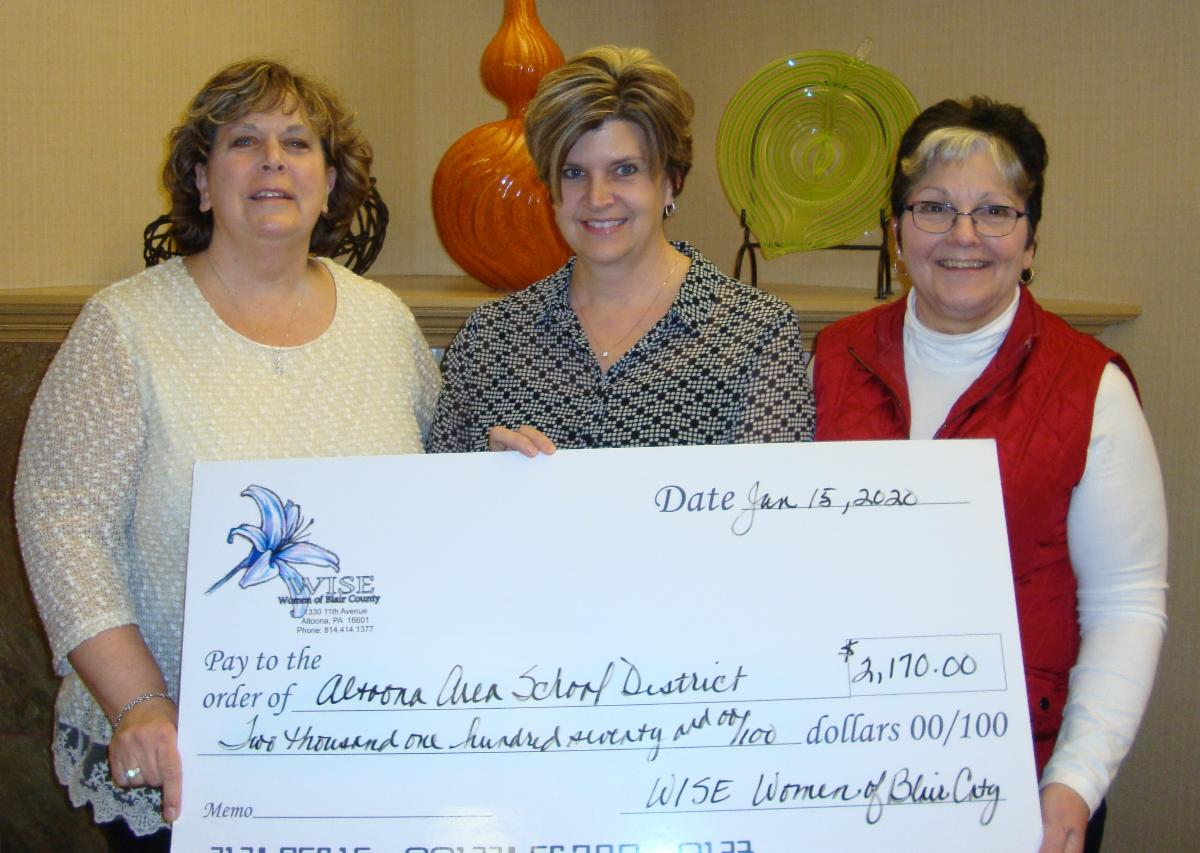 WISE Women Check Presentation to AASD Adult Education