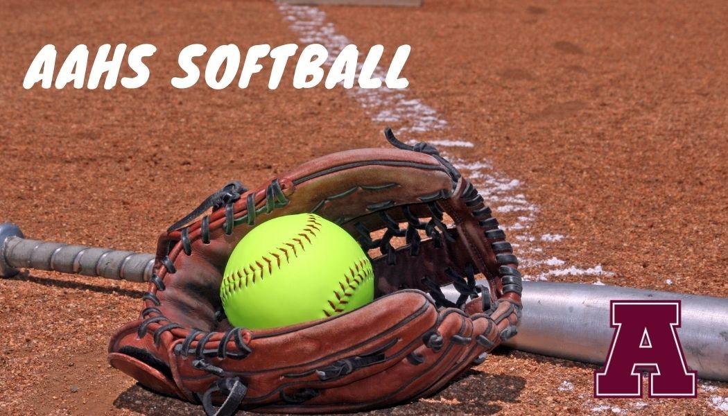 softball and mitt