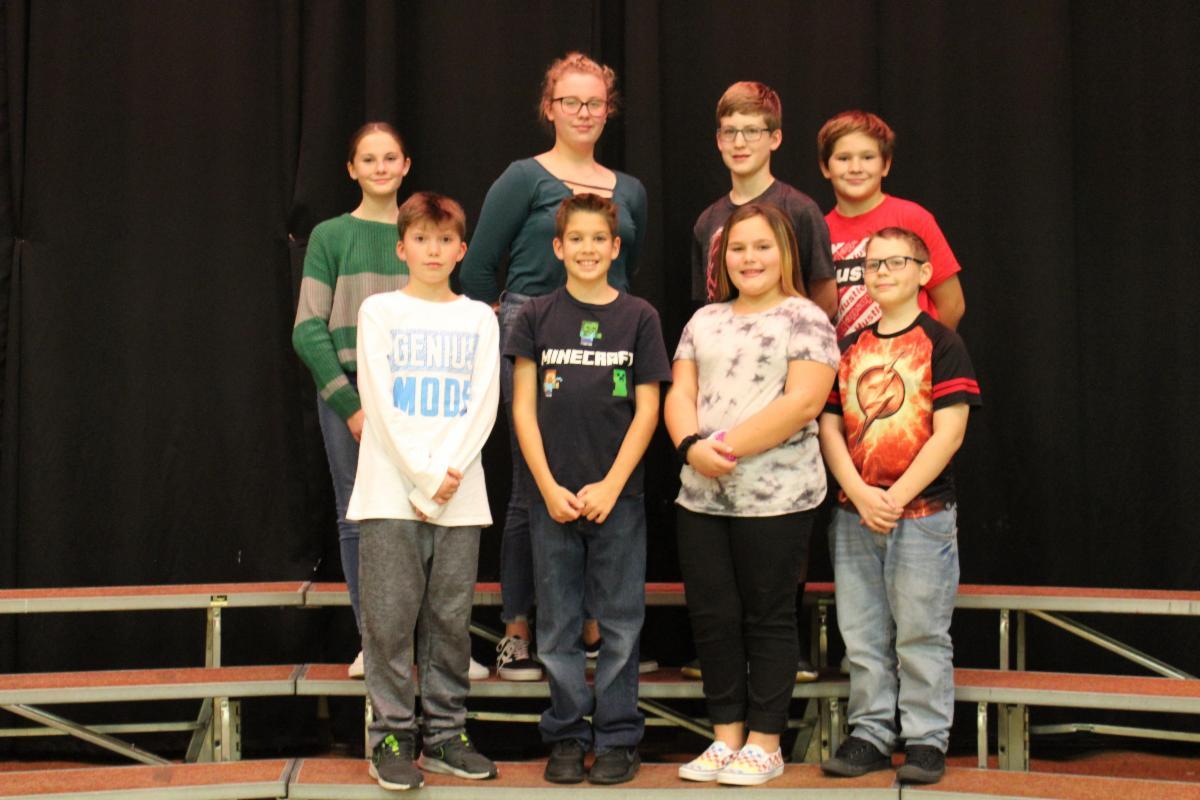 students in Juniata Show Choir