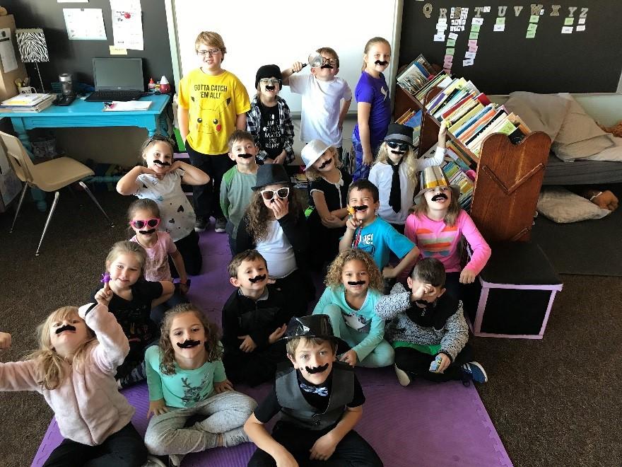 1st grade classroom Word Detectives