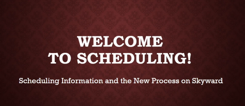 Welcome to Scheduling