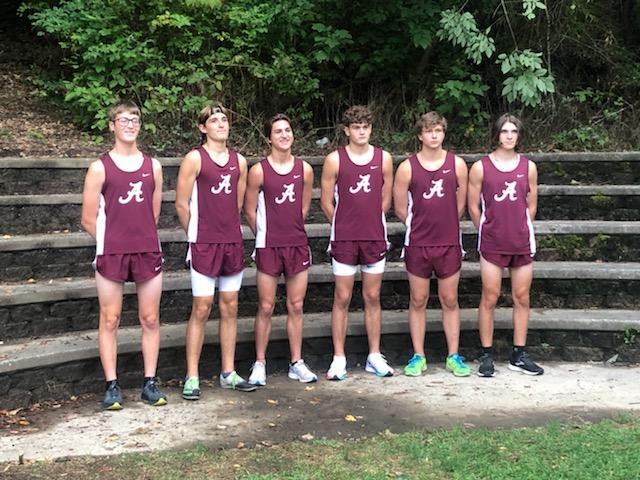 senior boy runners