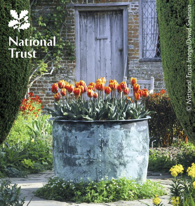 The Sissinghurst Castle Garden Copper Planter