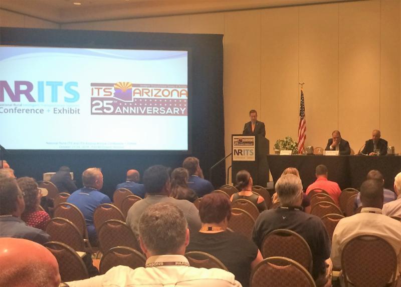 Steve Albert on far right at the NRITS Plenary session