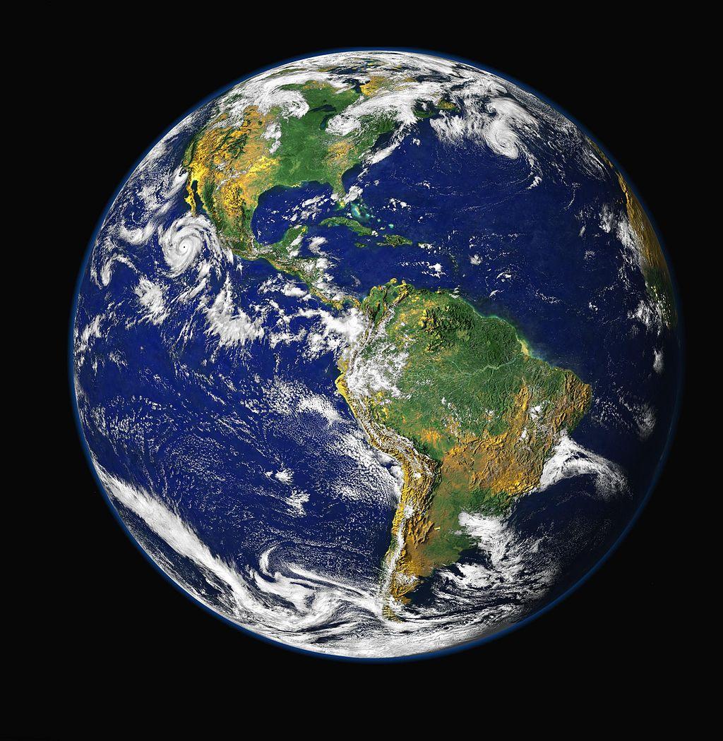 Earth - Blue Marble.  Image: NASA/ GSFC/ NOAA/ USGS