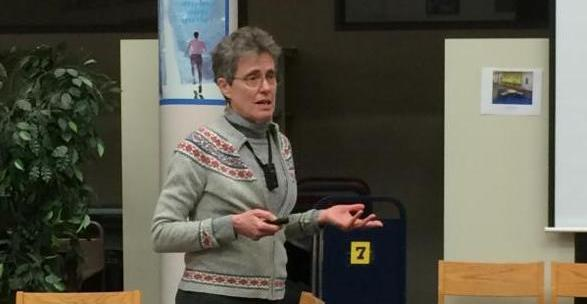 Betsy Ramsey teaches on Recognizing Dyslexia