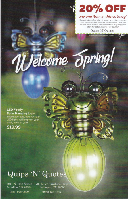 Shop Quips 'N' Quotes For All Your Easter Gifts Our Spring Catalog Delectable Quips N Quotes