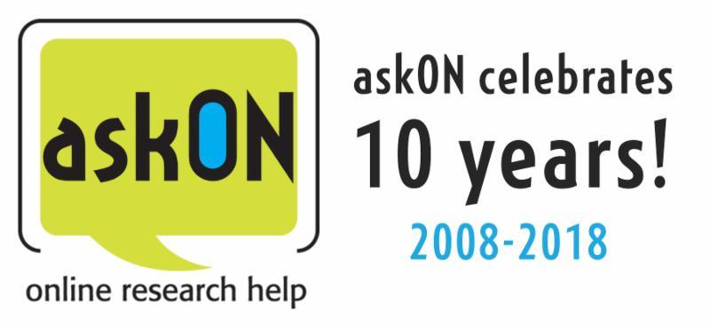 askON 10 year special edition logo