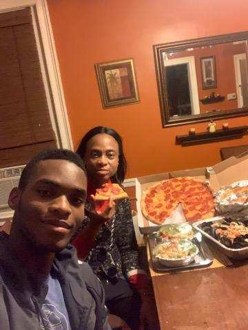 Hope Idowu, winner of our October Family Pizza Night