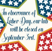 BAL will be closed on Labor Day