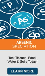 Arsenic Speciation testing
