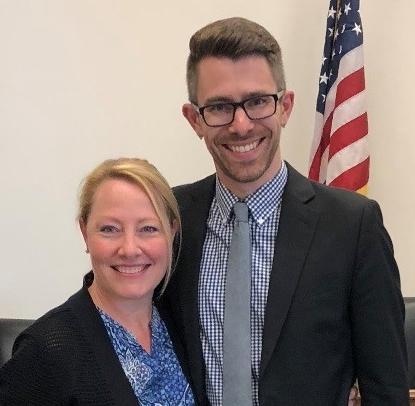 Michelle Brisoe and Joel Creswell