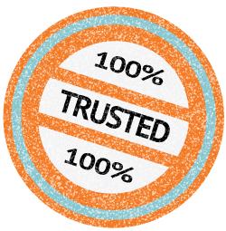 Trusted 100 Percent