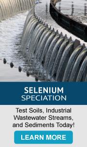 Selenium Speciation - Test Soils_ Industrustrial Wastewater Streams and Sediments
