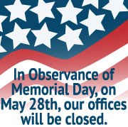 BAL Closed on Memorial Day 2018
