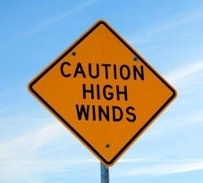 Caution High Winds
