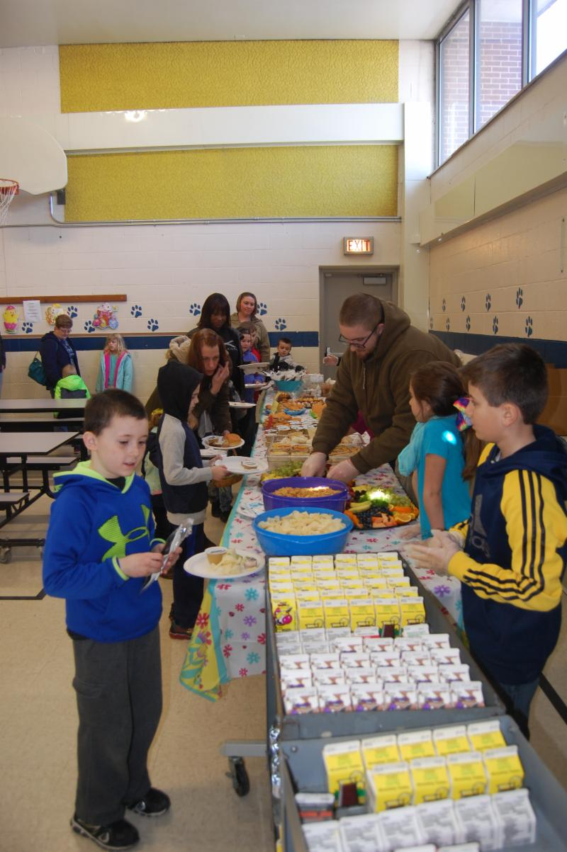%22On Saturday, March 24, students of Lurgan Elementary and their families enjoyed 'Brunch with the Easter Bunny' made possible through generous food donations from Hickory Ridge Restaurant, Greenvillage Family Restaurant, Harrisburg Dairies, Martins Famous