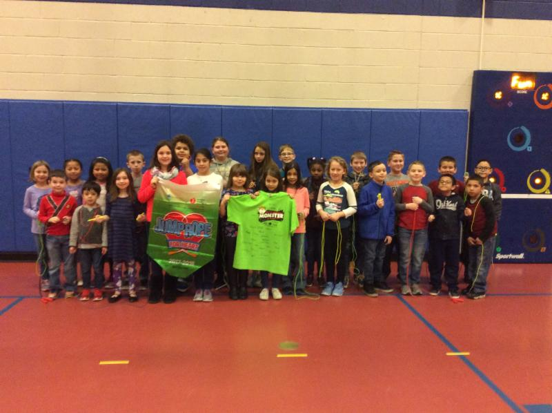 Ben Chambers students that raised $50 or more for Jump Rope For Heart earned a reward for their fundraising efforts.  The entire Ben Chambers school raised over $5,200.00!