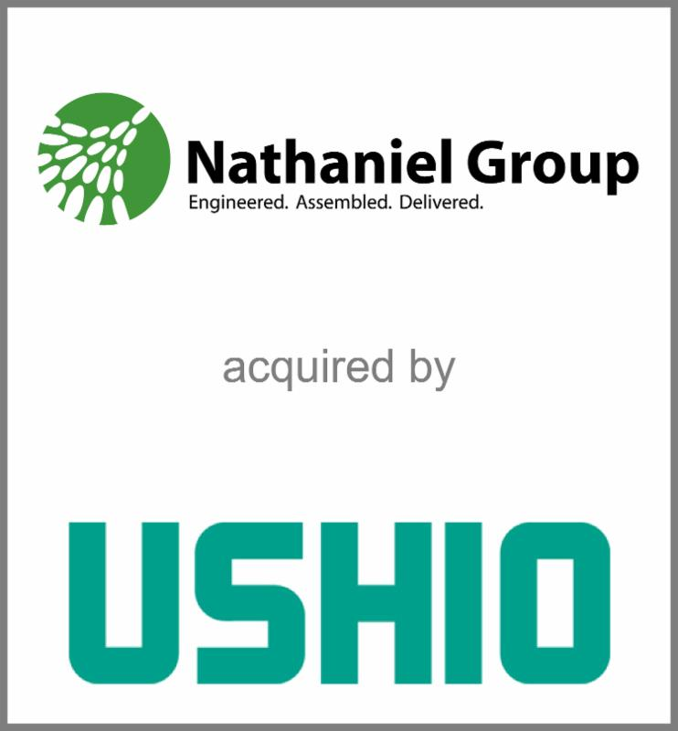 Nathaniel Group acquired by USHIO