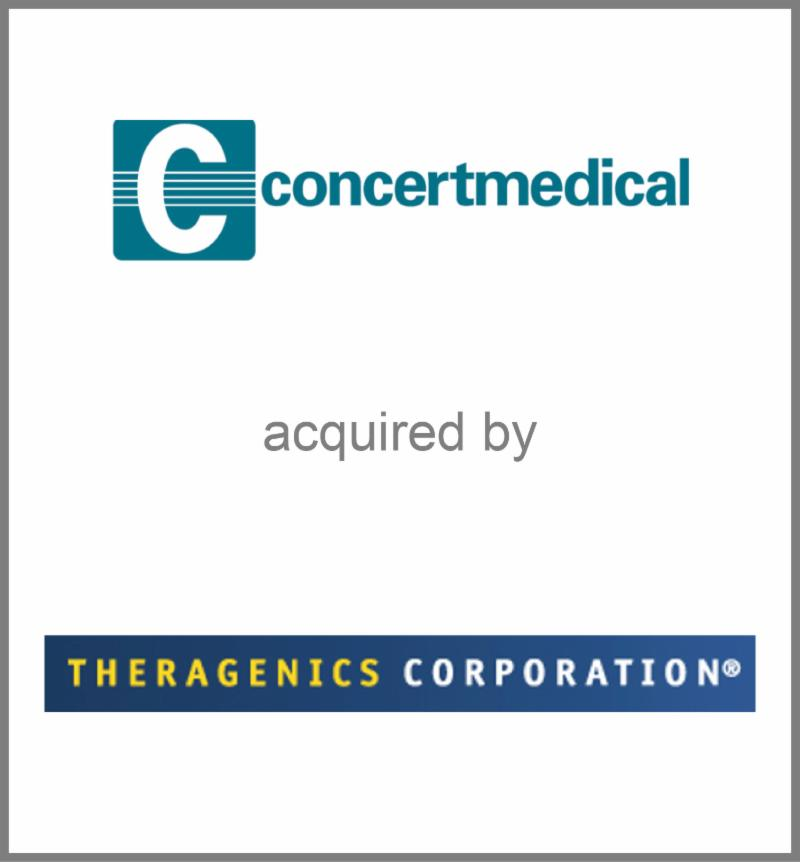 Concertmedical acquired by Theragenics