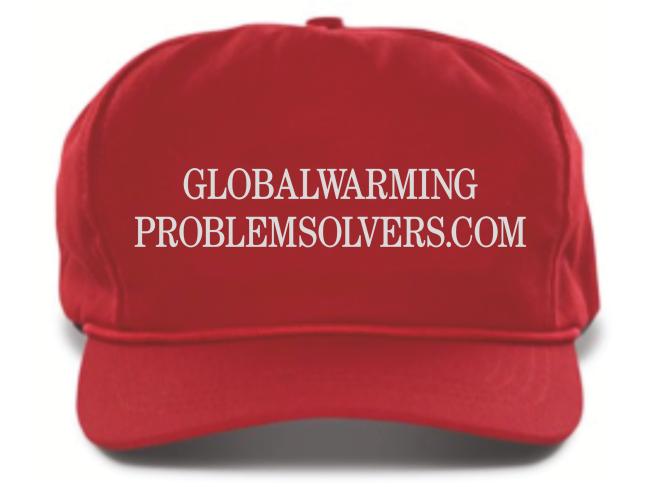 Global Warming Problem Solvers hat