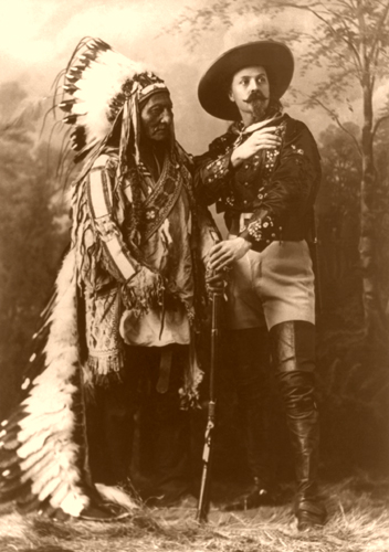Buffalo Bill Cody and Sitting Bull