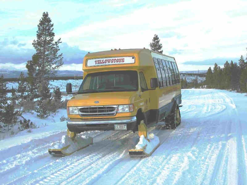 Yellowstone Snowcoach