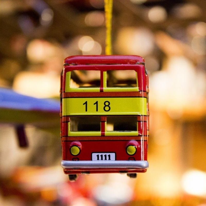 Bus ornament
