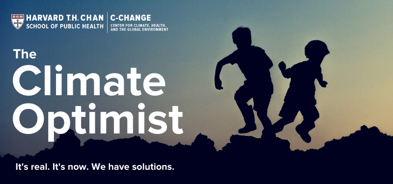 The Climate Optimist - It's real. It's now. We have solutions.