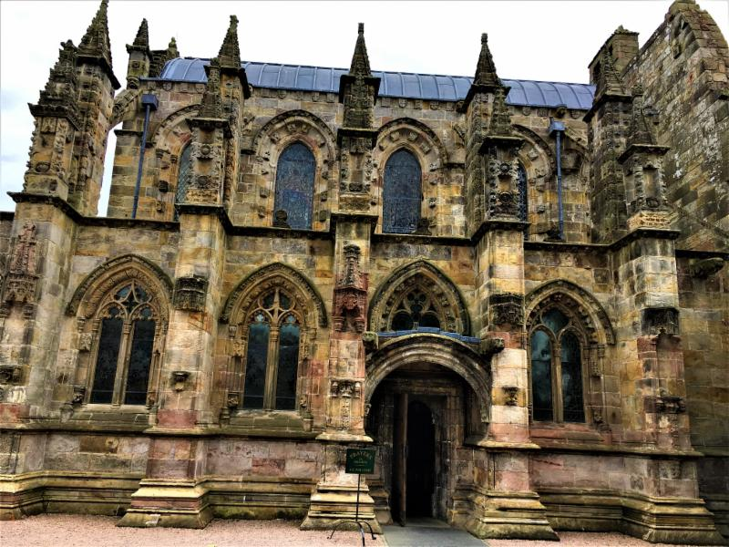 Rosslyn Chapel of DaVinci Code fame, Scotland